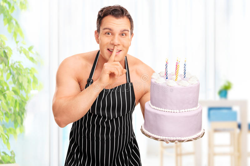 Something is. fat naked lady holding birthday cake congratulate, your