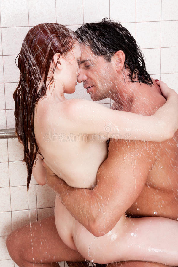 from Leighton naked couples in the shower kissing