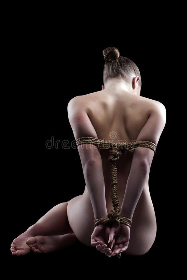 Ladies Tied With Rope Video 81
