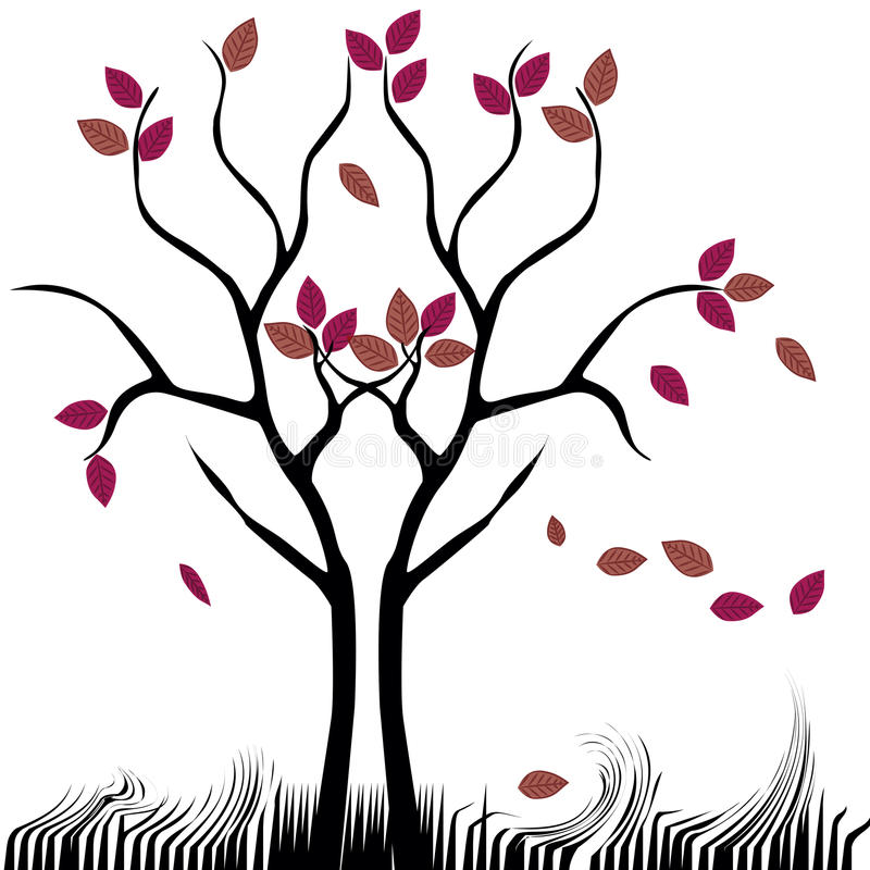 Download Naked tree stock vector. Image of background, icon, branch - 33800827
