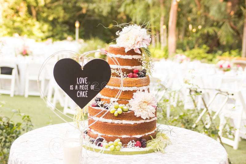 no frosting wedding cake wedding cake stock photo image of covered 17906