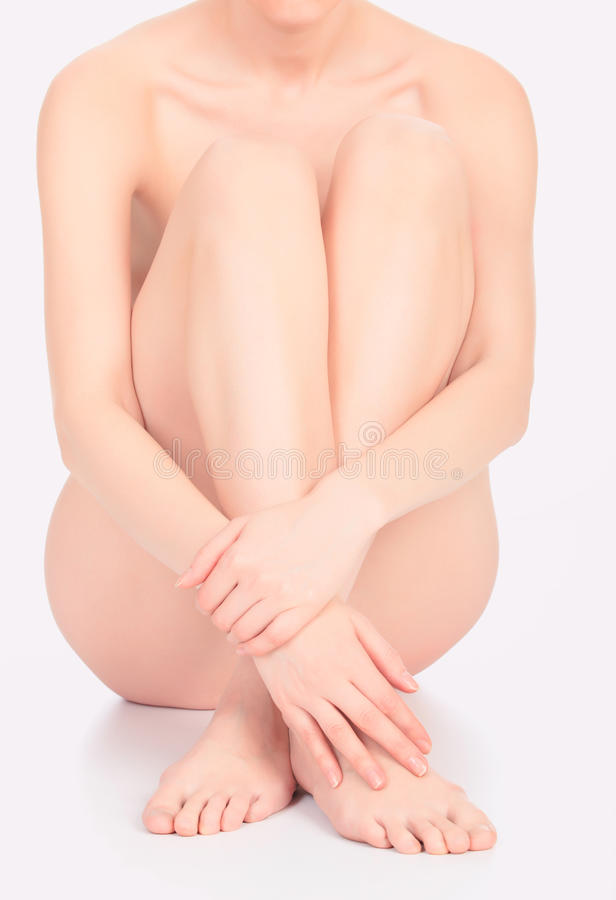 Naked Woman Stock Photography