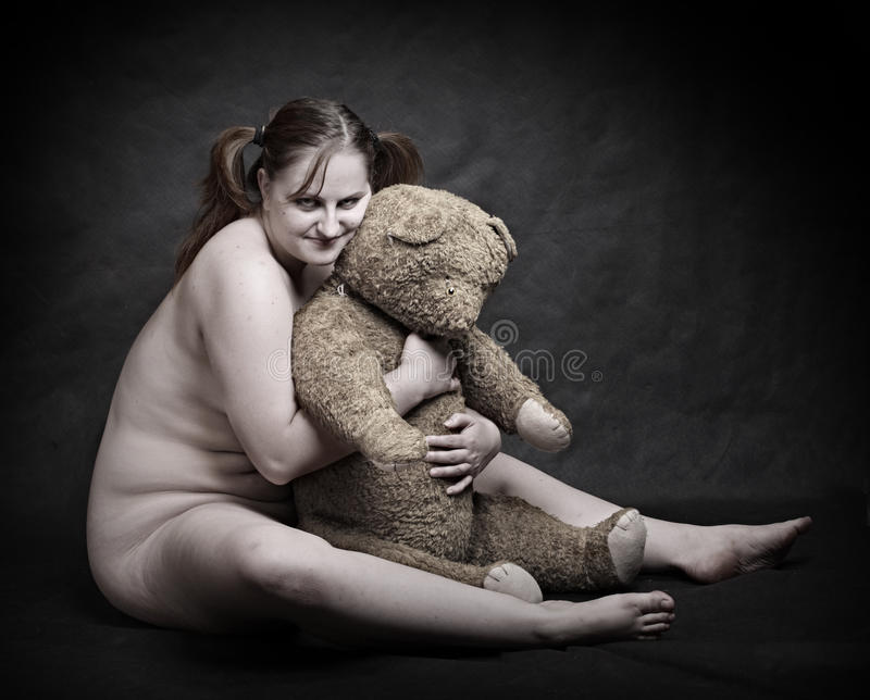 Phrase and naked ladies with furry teddy bears simply