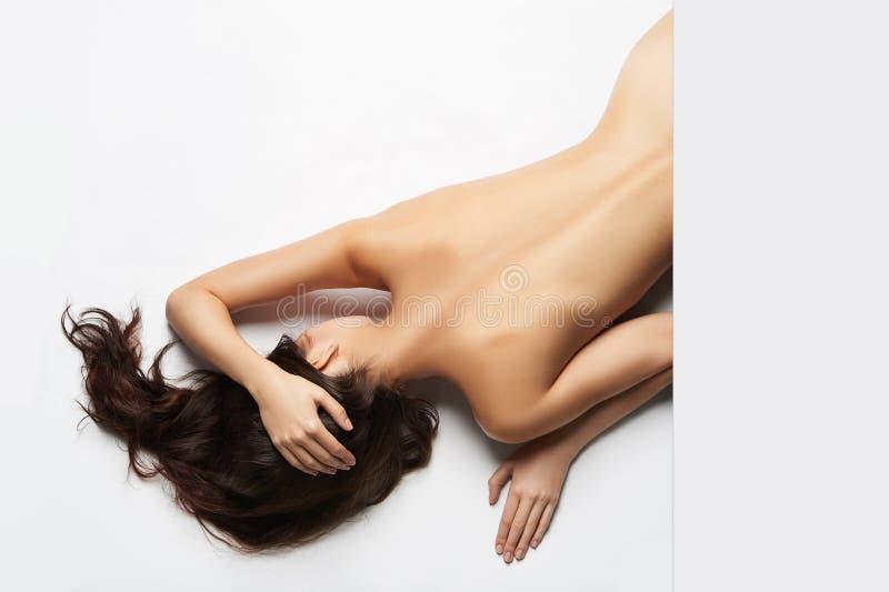 naken sexig kvinna arkivbilder