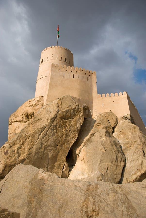 nakhal的堡垒 免版税库存图片