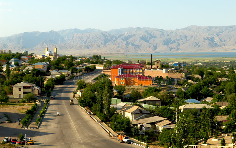 Nakhichevan stad royalty-vrije stock afbeelding