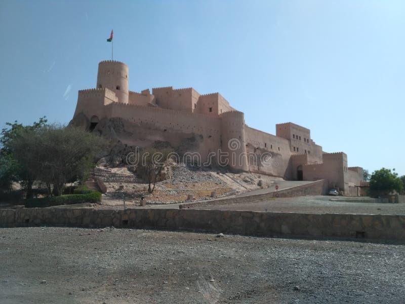 Nakhl fort obrazy royalty free