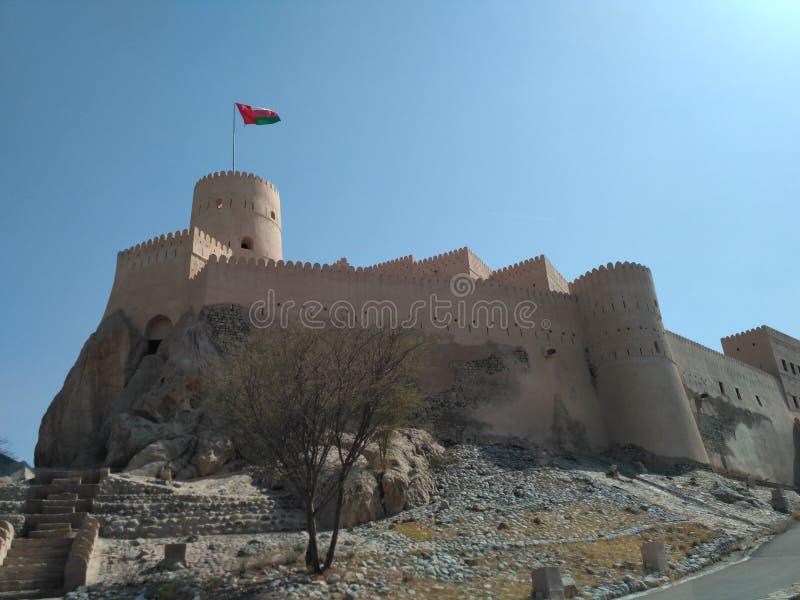 NAKHL fort OMAN obrazy royalty free