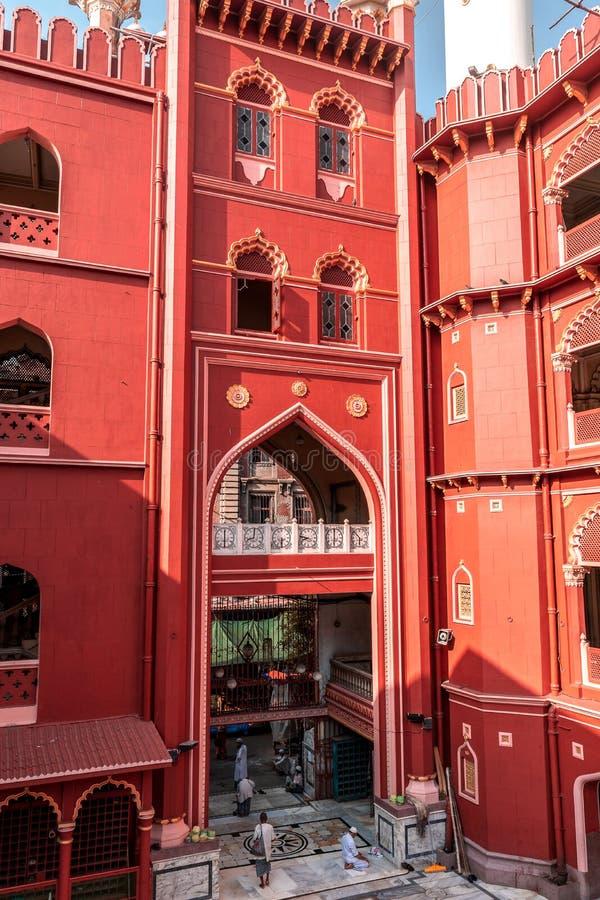 Nakhoda Masjid, den främsta moskén av Kolkata arkivfoton