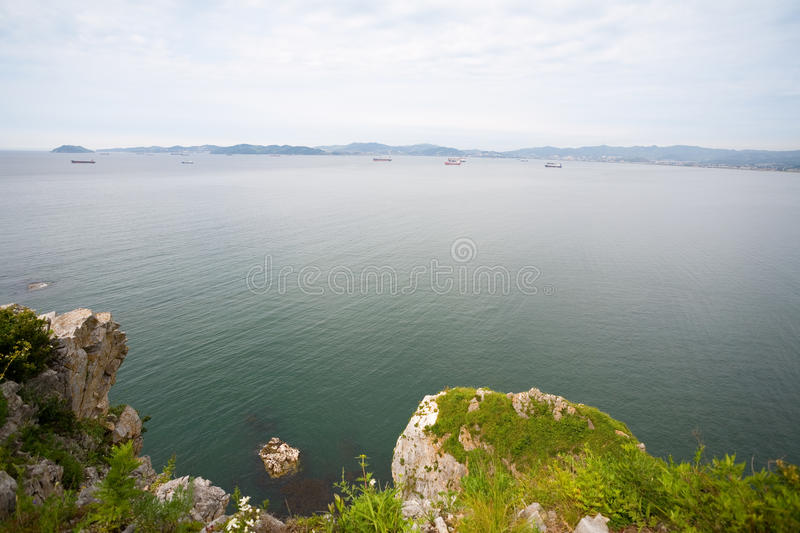 Download Nakhodka bay stock photo. Image of outdoor, horizon, bank - 26442682