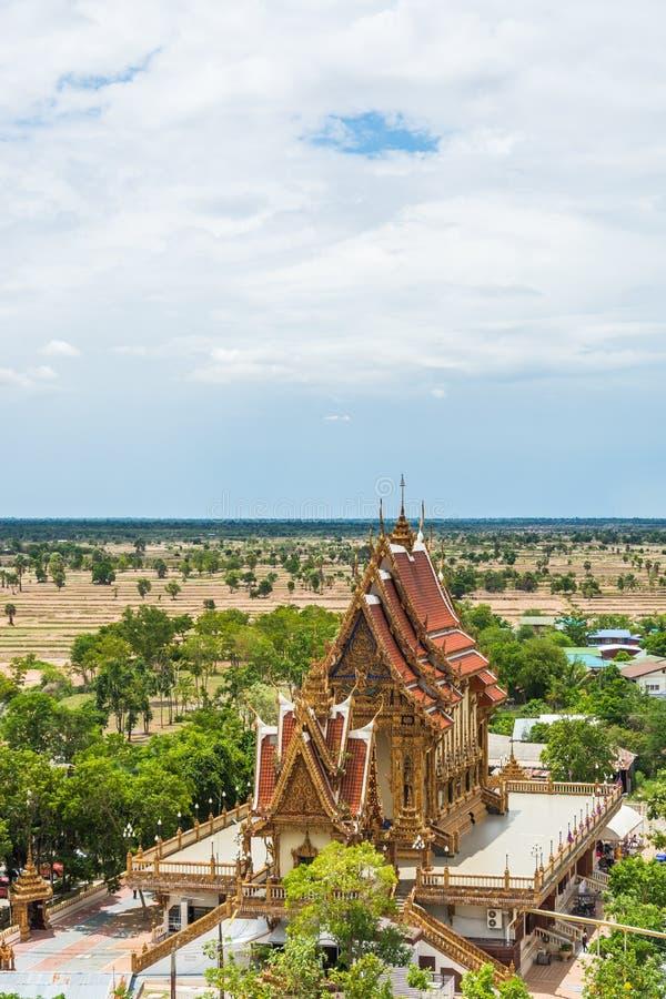 Nakhon Ratchasima Thailand Wat Banrai fotografering för bildbyråer