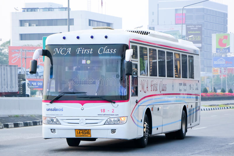 Nakhonchai lotniczej firmy autobus żadny 18-2 obrazy stock