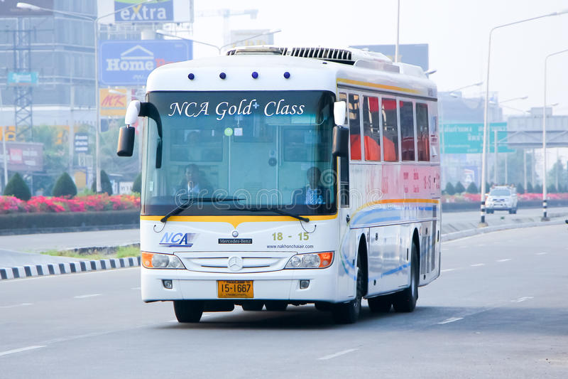 Nakhonchai lotniczej firmy autobus żadny 18-15 zdjęcia royalty free