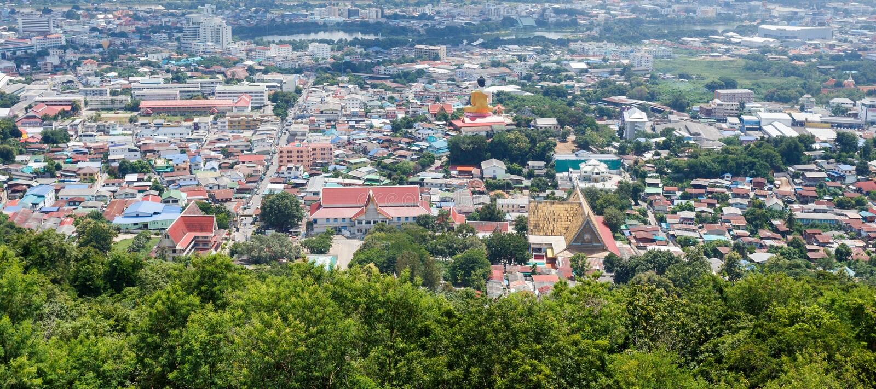 Nakhonsawan, Ταϊλάνδη στοκ εικόνες