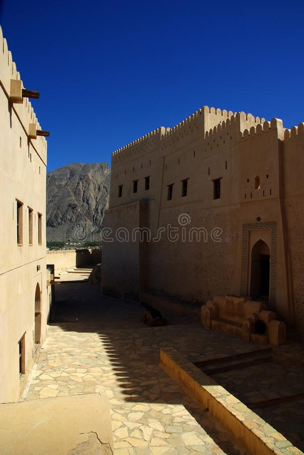 Download Naklah Fort stock photo. Image of architectural, crenelate - 20335498