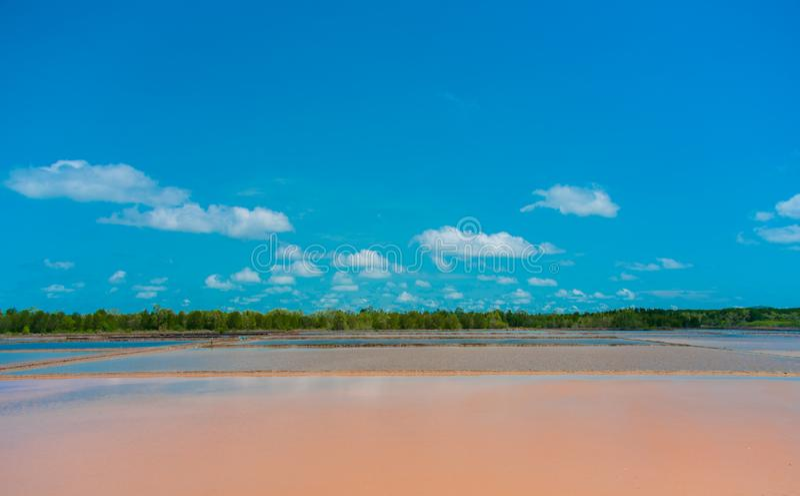 Naklua, на предпосылке Chanthaburi голубого неба Таиланда стоковые фотографии rf