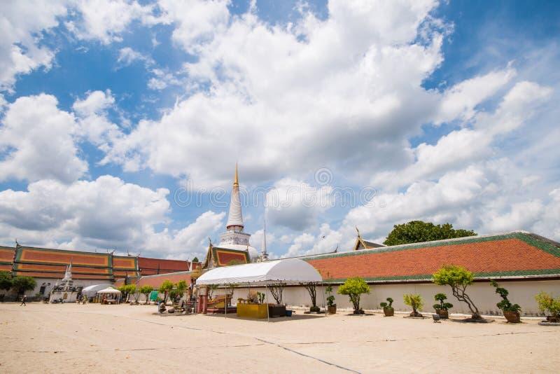 Nakon Sri Tammarat-Thailand, 9 April:: arkivfoto