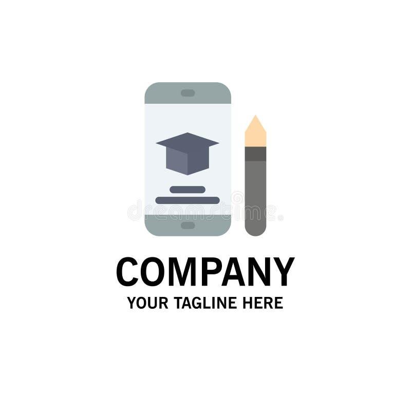 Nakrętka, edukacja, skalowanie, wisząca ozdoba, Ołówkowy Biznesowy logo szablon p?aski kolor royalty ilustracja