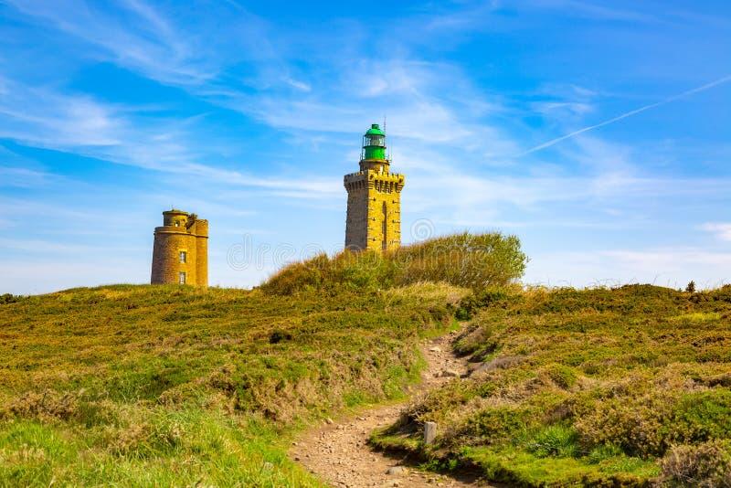 Nakrętka Frehel, Brittany - Francja fotografia royalty free