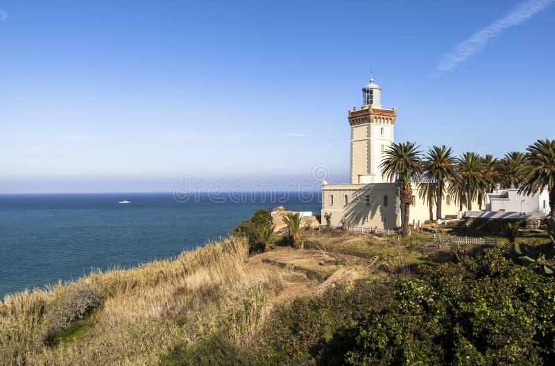 Nakrętka Spartel w Tangier, Maroko obraz royalty free