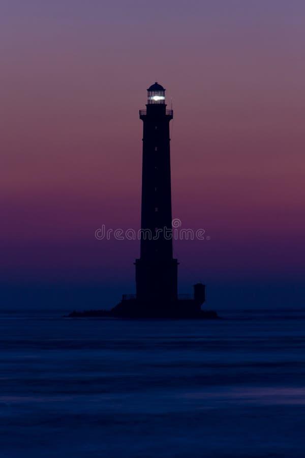nakrętki de Hague losu angeles latarnia morska obraz stock