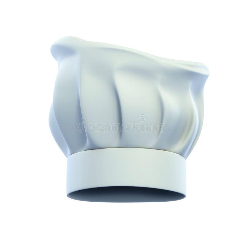 nakrętki szef kuchni kucharza kapelusz s royalty ilustracja