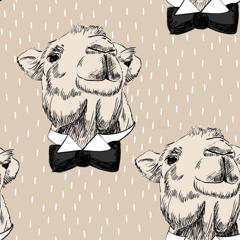 Nakreślenie wielbłąd ilustracji
