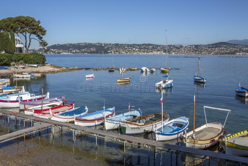 Nakrywa de Antibes południe Francja - Francuski Riviera - zdjęcie stock