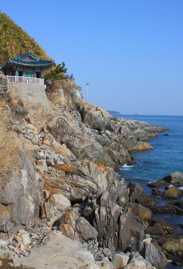 naksansa buddyjska powikłana koreańska świątynia obrazy royalty free