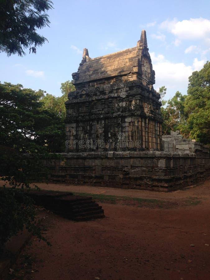 nalanda gedige斯里兰卡佛教寺庙  免版税库存照片