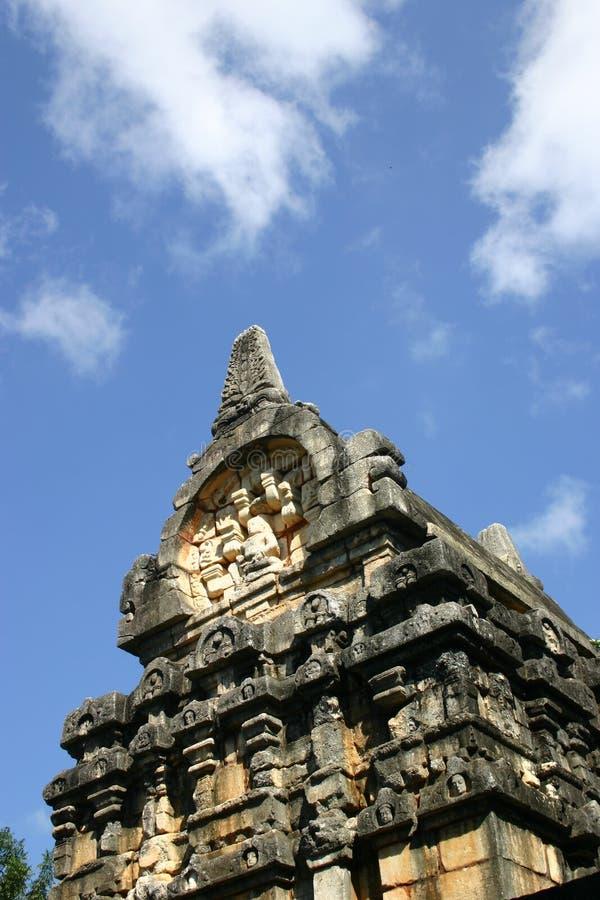 Nalanda Gedige en Sri Lanka foto de archivo
