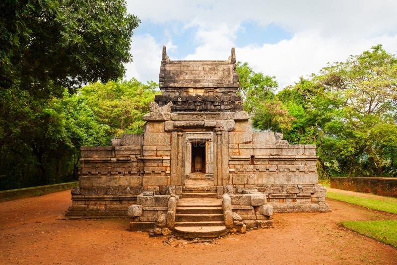 Nalanda Gedige Hindu Temple stock images