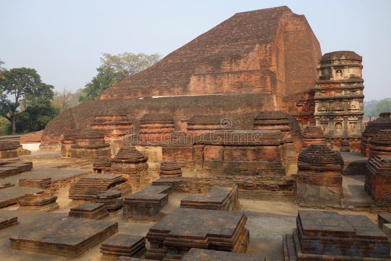 Nalandatempel Mahasamadhi royalty-vrije stock fotografie