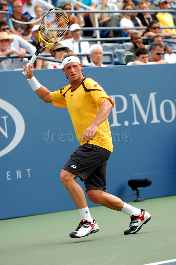Nalbandian David at US Open 2008 (42) royalty free stock photos