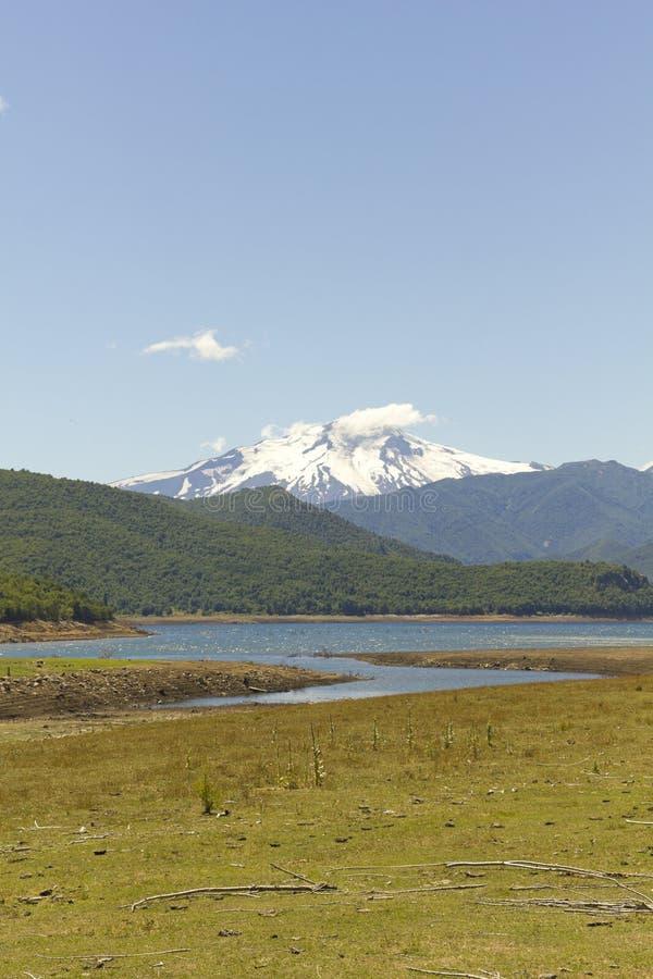 Nalcas Nationaal Park, Chili royalty-vrije stock afbeelding