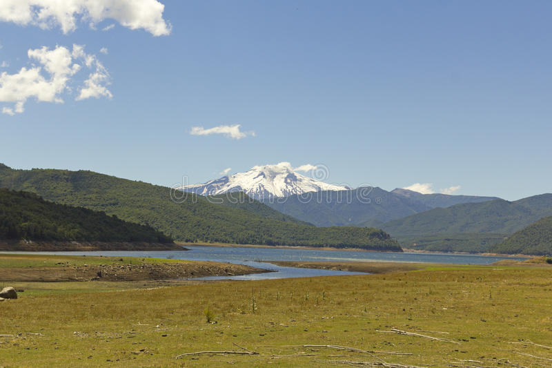Nalcas Nationaal Park, Chili stock foto