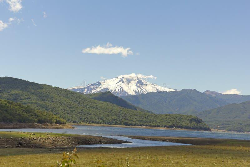 Nalcas Nationaal Park, Chili stock foto's