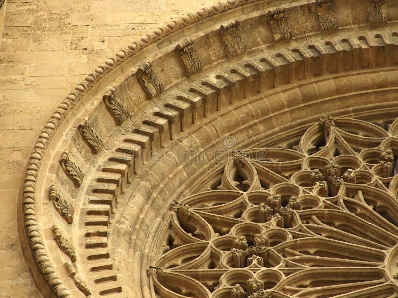 należy zwrócić szczególną katedralny palma Hiszpanii obrazy stock
