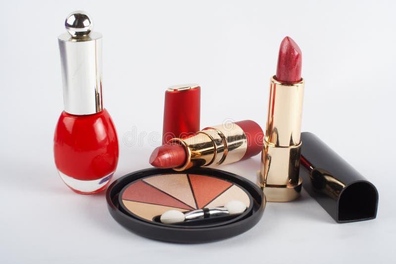 należy zwrócić szczególną makeups asortymentu strzał makro fotografia royalty free