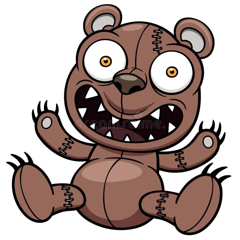 Nallebjörn stock illustrationer