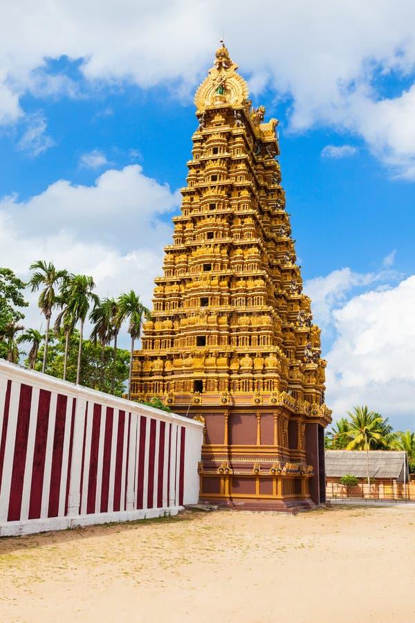 Nallur Kandaswamy świątynia, Jaffna zdjęcia stock