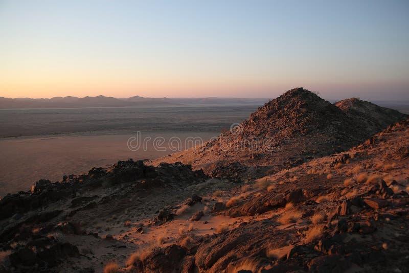Namíbia, Damaraland, paisagem panorâmico, imagem de stock royalty free