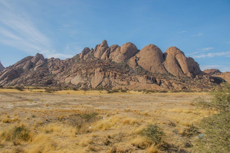 Namíbia - Spitzkoppe fotos de stock royalty free