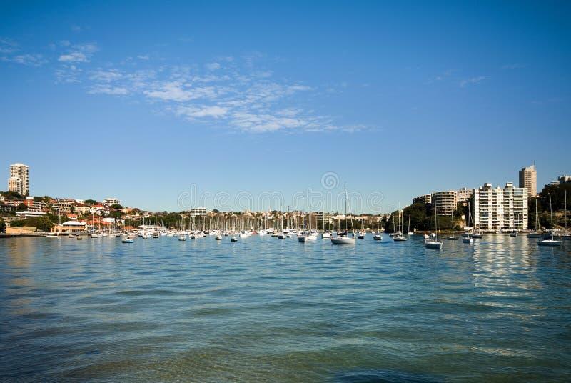 Nam Baai, Sydney, Australië toe stock afbeelding