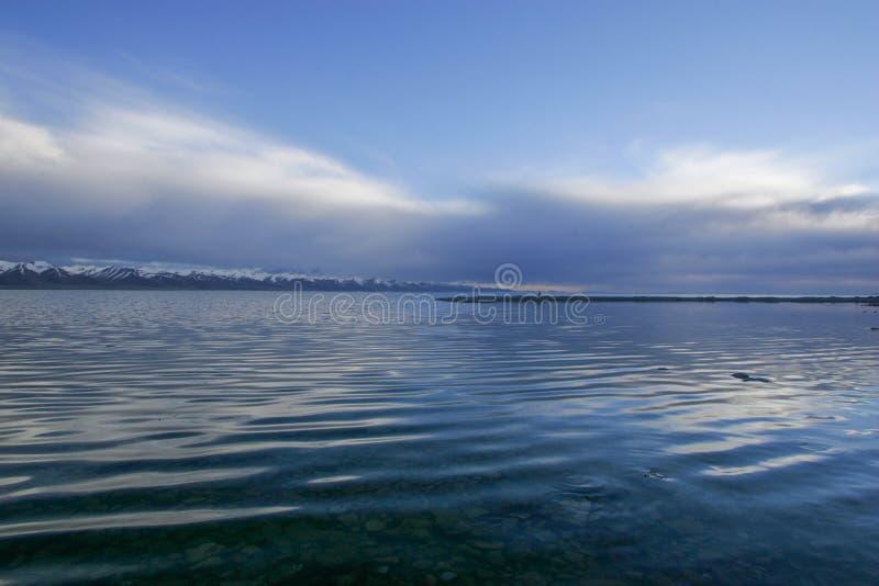 Nam Co jezioro w Tybet fotografia stock