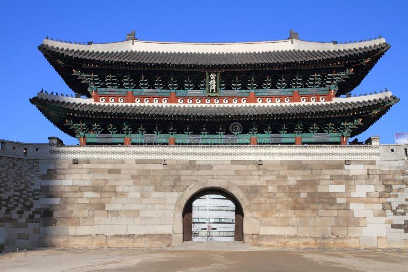 Nam dae mun brama w Seul zdjęcie stock