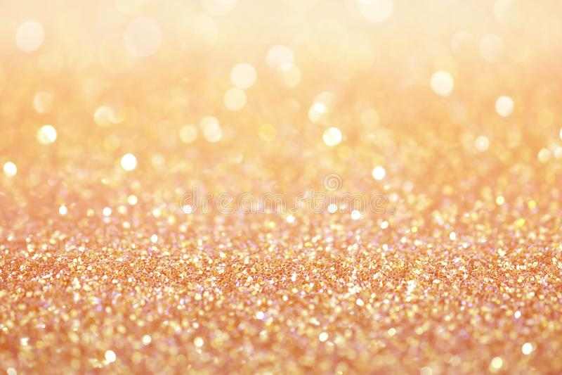 Nam de gouden roze abstracte achtergrond van de stoftextuur toe royalty-vrije stock foto's