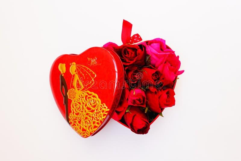 Nam en hartvorm toe royalty-vrije stock fotografie