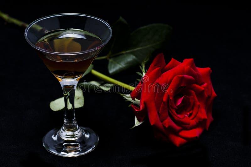 Nam en wijn toe royalty-vrije stock foto