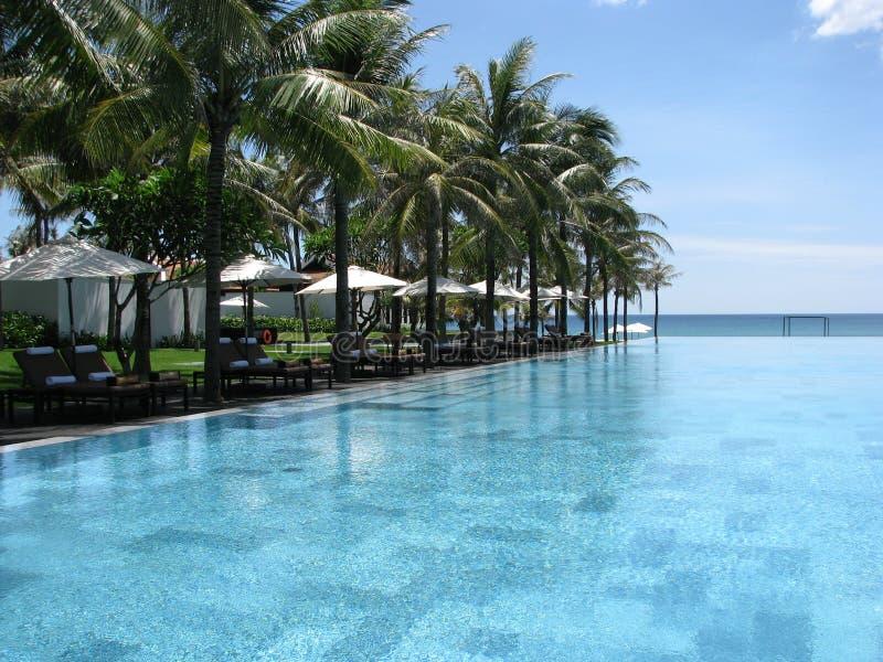 Nam Hai Pool 5 stockbilder